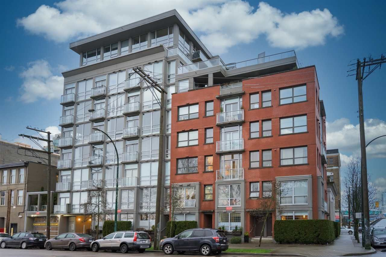 """Main Photo: 405 919 STATION Street in Vancouver: Strathcona Condo for sale in """"LEFT BANK"""" (Vancouver East)  : MLS®# R2594810"""