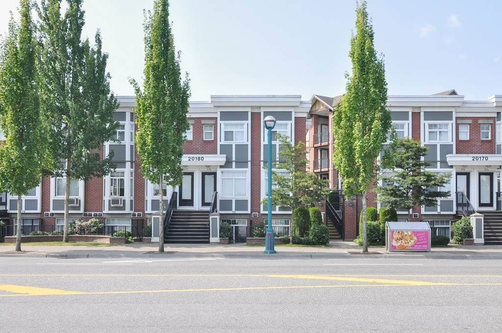 Main Photo: 176 20180 FRASER HIGHWAY in : Langley City Townhouse for sale : MLS®# R2320387
