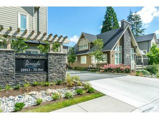 "Photo 1: 30 19913 70 Avenue in Surrey: Willoughby Heights Townhouse for sale in ""THE BROOKS"" (Langley)  : MLS®# R2285040"
