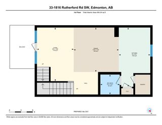 Photo 44: 33 1816 RUTHERFORD Road in Edmonton: Zone 55 Townhouse for sale : MLS®# E4233931