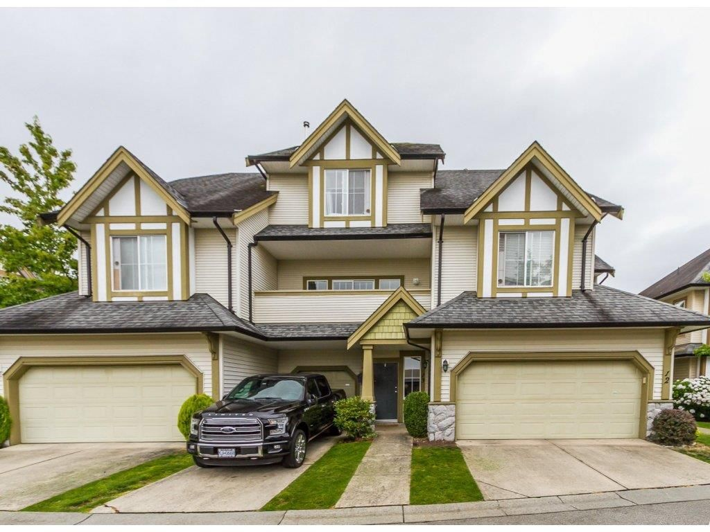 """Main Photo: 13 18707 65 Avenue in Surrey: Cloverdale BC Townhouse for sale in """"THE LEGENDS"""" (Cloverdale)  : MLS®# R2087422"""