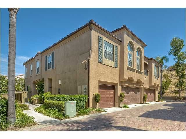 Main Photo: SCRIPPS RANCH Townhouse for sale : 3 bedrooms : 11821 Miro Circle in San Diego