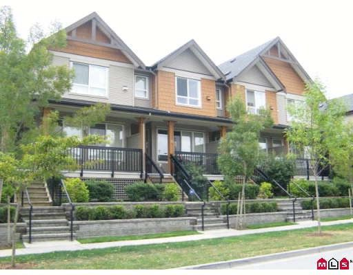 "Photo 1: Photos: 33 16772 61ST Avenue in Surrey: Cloverdale BC Townhouse for sale in ""Laredo"" (Cloverdale)  : MLS®# F2824173"