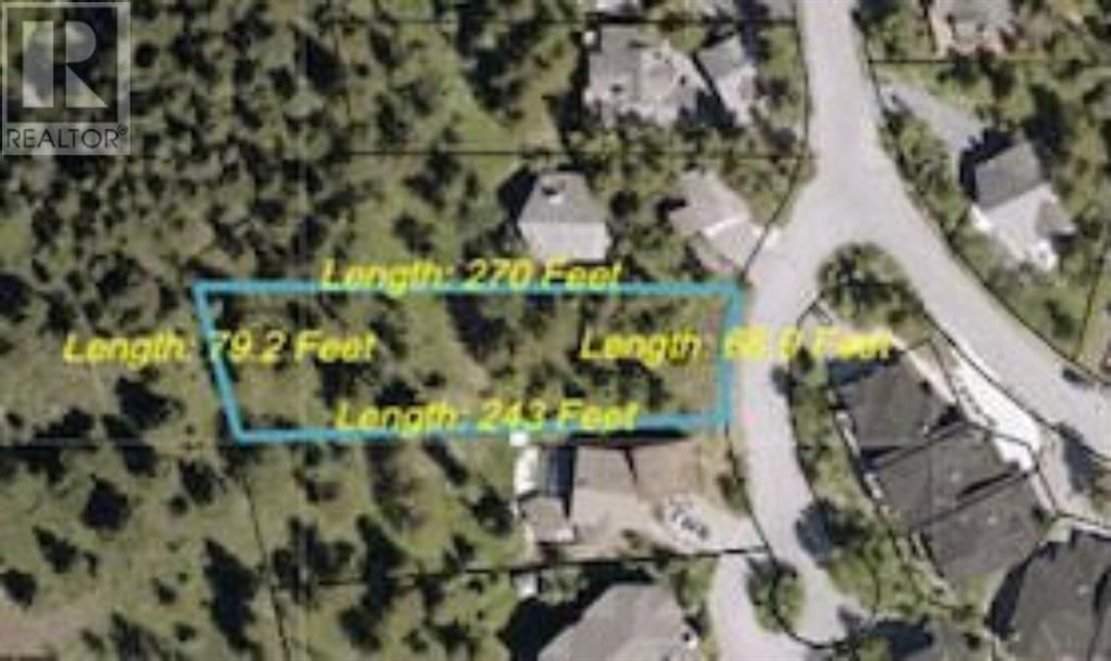 Main Photo: 5 ASPEN  Glen in Canmore: Vacant Land for sale : MLS®# A1053291