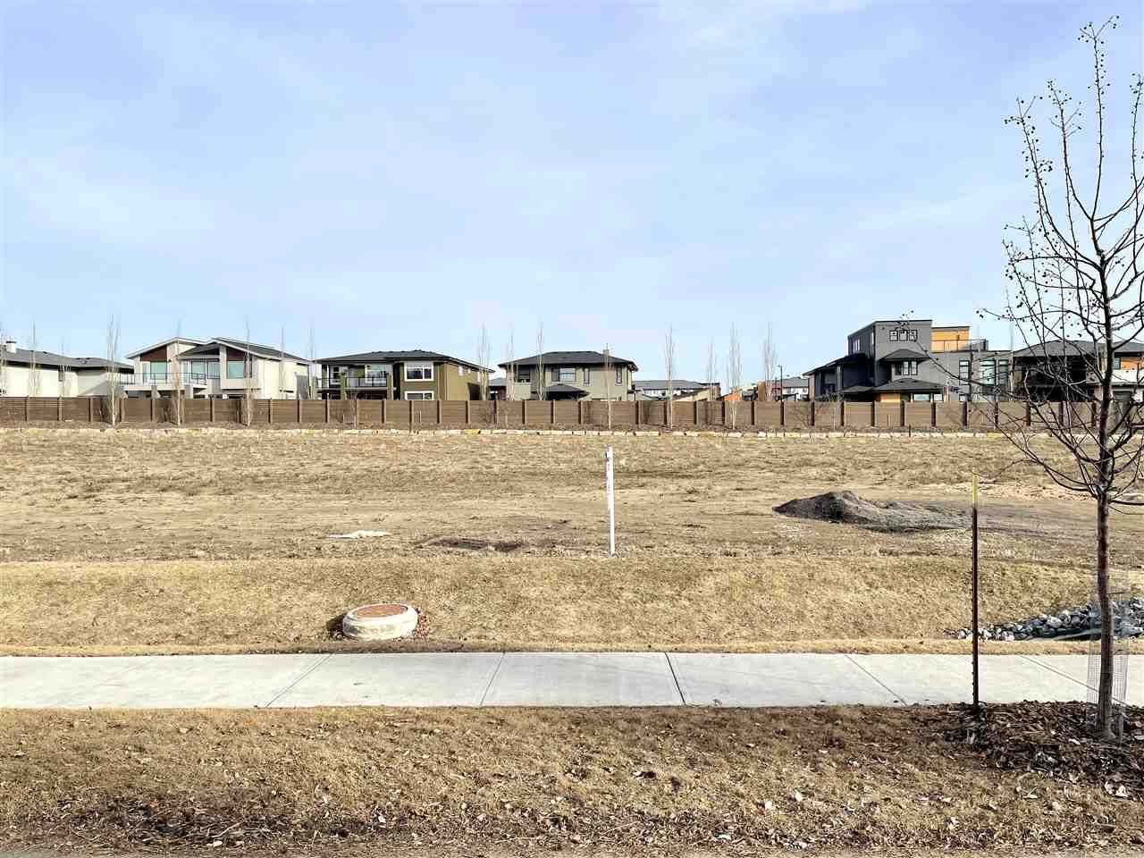 Main Photo: 175 WINDERMERE Drive in Edmonton: Zone 56 Vacant Lot for sale : MLS®# E4236267