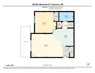 Photo 20: 338, 901 Mountain Street in Canmore: Condo for sale : MLS®# A1100965