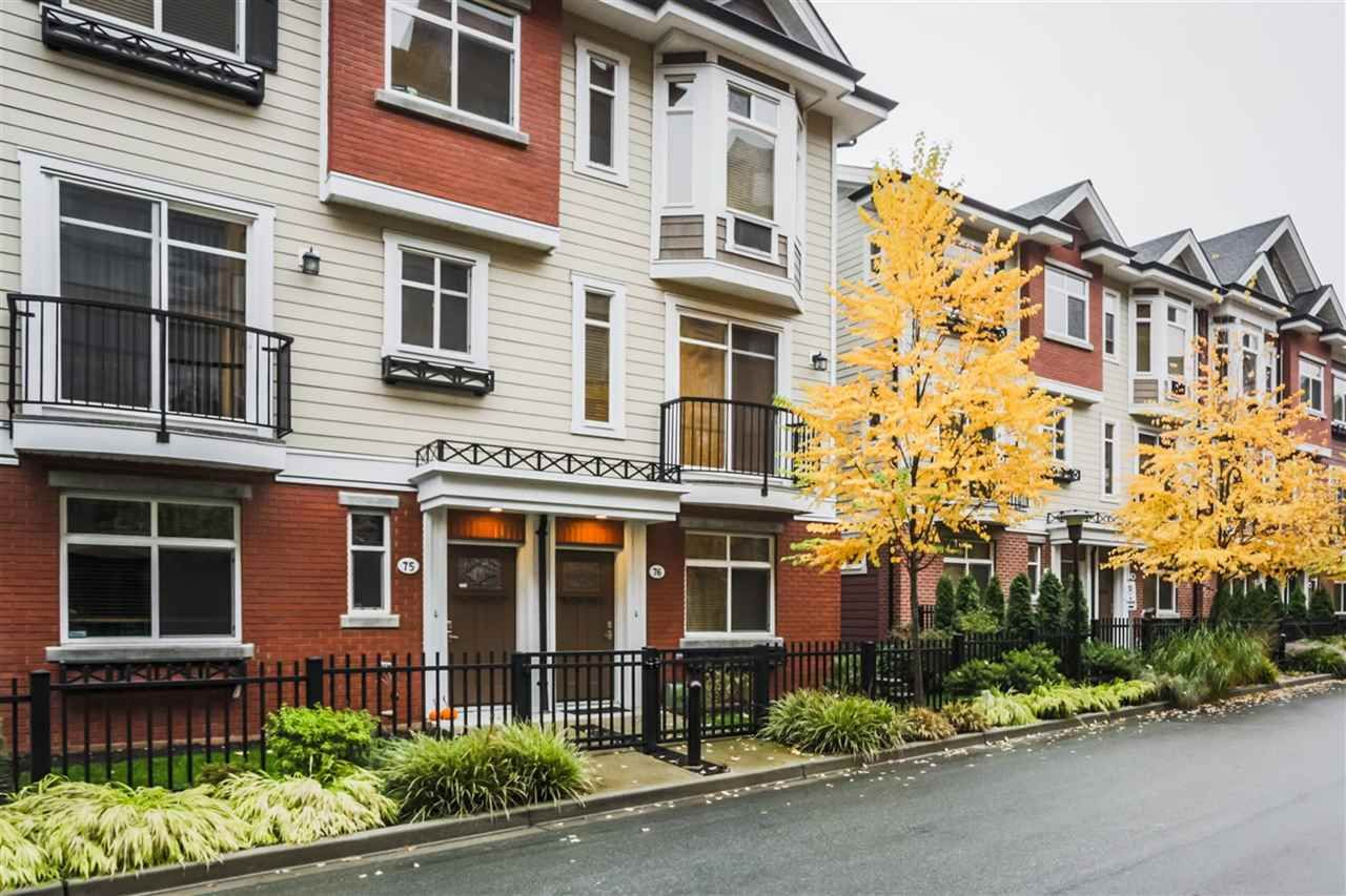 """Main Photo: 75 8068 207 Street in Langley: Willoughby Heights Townhouse for sale in """"Yorkson Creek South"""" : MLS®# R2218677"""