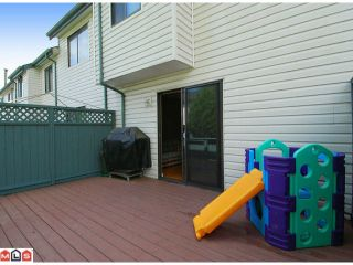 """Photo 9: 214 13628 67TH Avenue in Surrey: East Newton Townhouse for sale in """"HYLAND CREEK ESTATES"""" : MLS®# F1015063"""