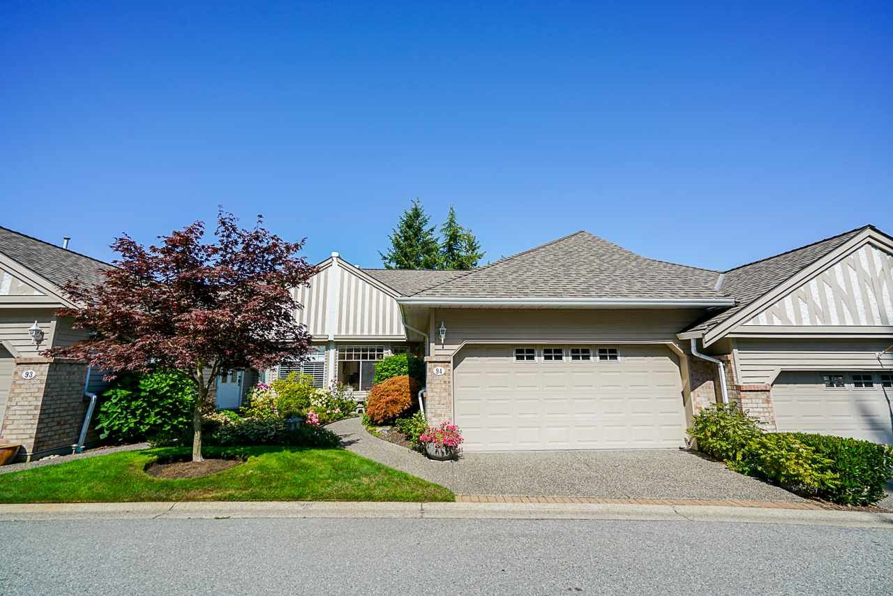 """Main Photo: 94 2533 152 Street in Surrey: Sunnyside Park Surrey Townhouse for sale in """"BISHOP'S GREEN"""" (South Surrey White Rock)  : MLS®# R2417462"""