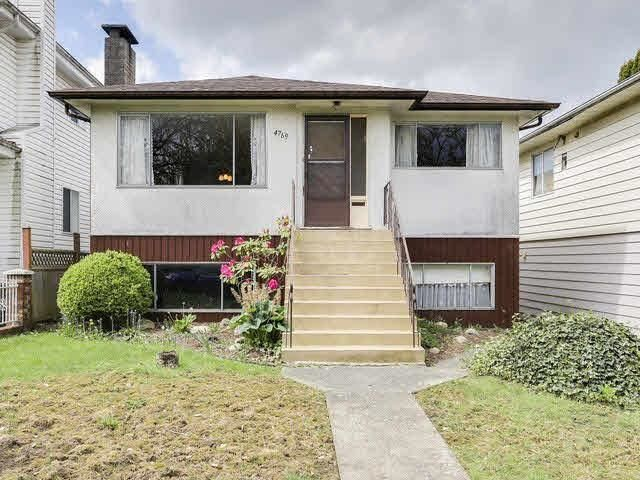 Main Photo: 4769 COMMERCIAL Street in Vancouver: Victoria VE House for sale (Vancouver East)  : MLS®# R2584043