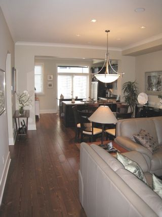 """Photo 5: 104 2580 LANGDON Street in Abbotsford: Abbotsford West Townhouse for sale in """"The Brownstones"""" : MLS®# F1128533"""