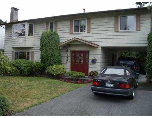 Main Photo: 1594 ST ALBERT Avenue in Port Coquitlam: Glenwood PQ House for sale : MLS®# V606736