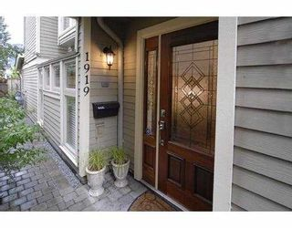 Photo 1: 1919 W 12TH Avenue in Vancouver: Kitsilano Townhouse for sale (Vancouver West)  : MLS®# V659271