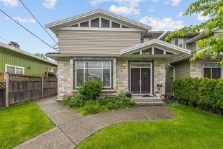 """Photo 1: 4566 BARKER Avenue in Burnaby: Burnaby Hospital 1/2 Duplex for sale in """"THE DRIVE BY ONNI"""" (Burnaby South)  : MLS®# R2587872"""