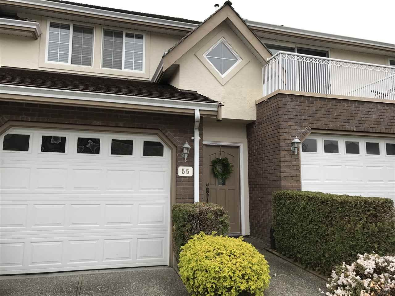 """Main Photo: 55 31450 SPUR Avenue in Abbotsford: Abbotsford West Townhouse for sale in """"Lake Point Villa"""" : MLS®# R2157955"""