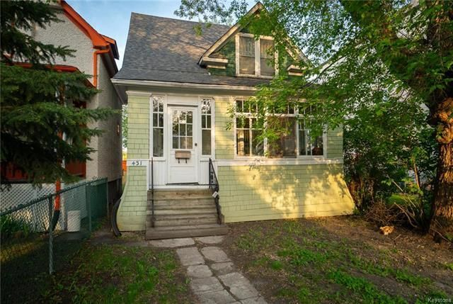 Main Photo: 431 Banning Street in Winnipeg: West End Residential for sale (5C)  : MLS®# 1807821
