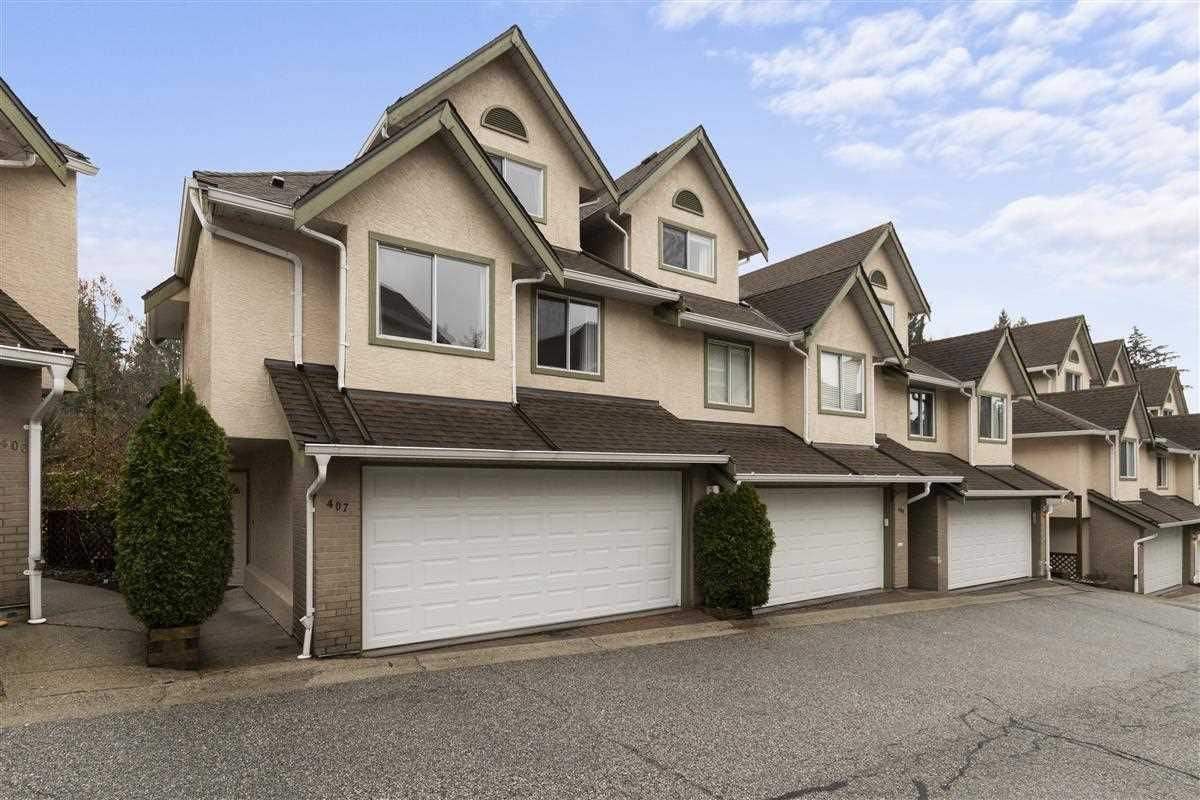 "Main Photo: 407 3980 INLET Crescent in North Vancouver: Indian River Townhouse for sale in ""Parkside"" : MLS®# R2542555"