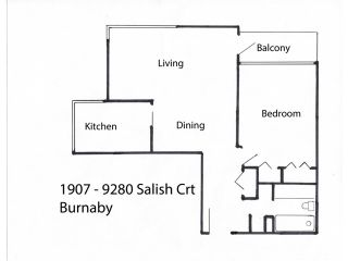 """Photo 9: 1907 9280 SALISH Court in Burnaby: Sullivan Heights Condo for sale in """"EDGEWOOD PLACE"""" (Burnaby North)  : MLS®# V1128708"""