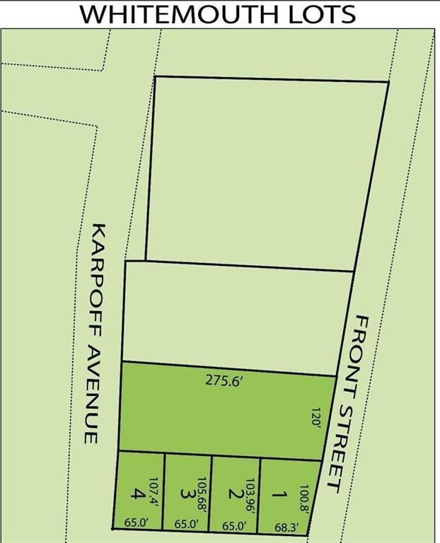 Main Photo: 22 Front Avenue in Whitemouth Rm: Vacant Land for sale : MLS®# 202110689