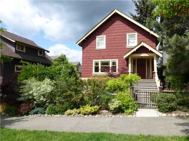 """Main Photo: 1517 KITCHENER Street in Vancouver: Grandview VE House for sale in """"COMMERCIAL DRIVE"""" (Vancouver East)  : MLS®# V1114748"""