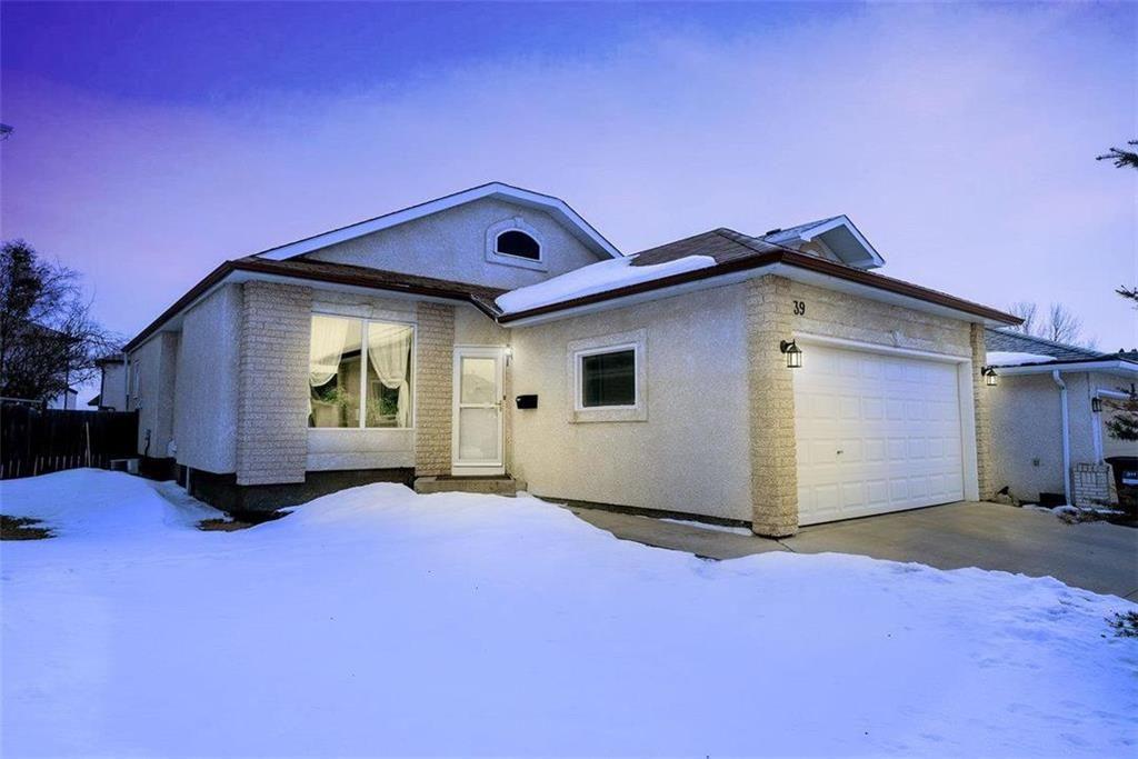 Main Photo: 39 Invermere Street | Whyte Ridge Winnipeg