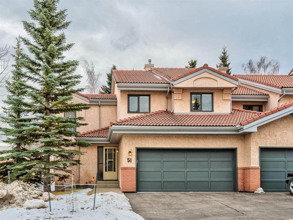 Main Photo: 51 5810 Patina Drive SW in Calgary: Patterson Row/Townhouse for sale : MLS®# A1088639