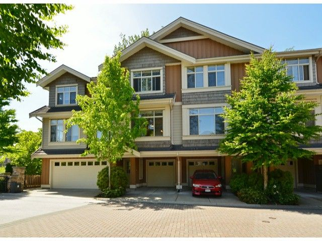 "Main Photo: 2 15151 34TH Avenue in Surrey: Morgan Creek Townhouse for sale in ""Sereno"" (South Surrey White Rock)  : MLS®# F1411685"