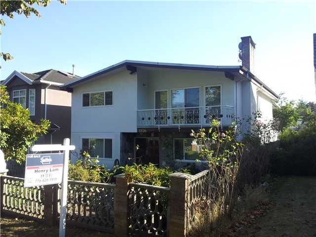 Main Photo: 3326 E 2ND Avenue in Vancouver: Renfrew VE House for sale (Vancouver East)  : MLS®# V974941