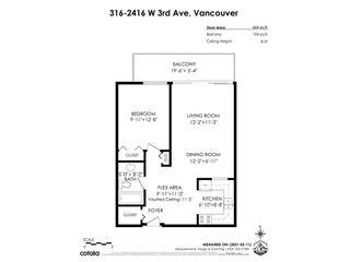 "Photo 3: 316 2416 W 3RD Avenue in Vancouver: Kitsilano Condo for sale in ""LANDMARK REEF"" (Vancouver West)  : MLS®# R2590886"