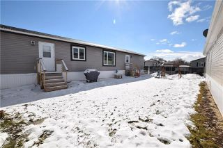 Photo 20: 24 TIMBER Lane in St Clements: Birdshill Mobile Home Park Residential for sale (R02)  : MLS®# 1907279