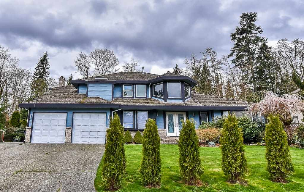 "Main Photo: 8097 149 Street in Surrey: Bear Creek Green Timbers House for sale in ""MORNINGSIDE ESTATES"" : MLS®# R2156047"