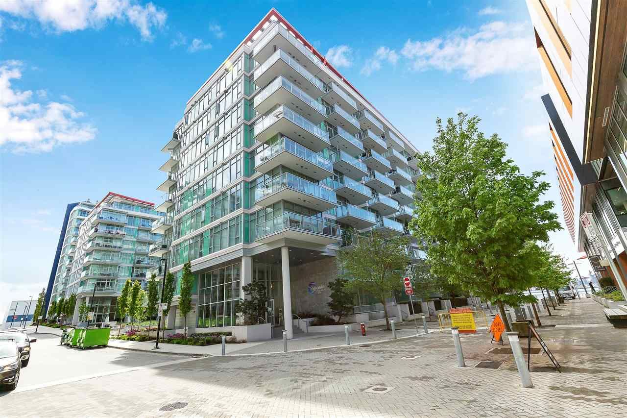 """Main Photo: 311 175 VICTORY SHIP Way in North Vancouver: Lower Lonsdale Condo for sale in """"CASCADE AT THE PIER"""" : MLS®# R2575296"""