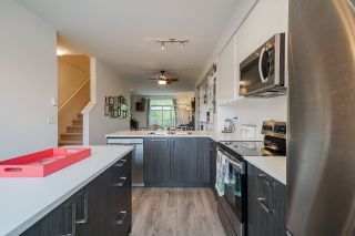 """Photo 1: 49 18681 68TH Avenue in Surrey: Clayton Townhouse for sale in """"Creekside"""" (Cloverdale)  : MLS®# R2572233"""