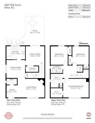 "Photo 25: 4837 55B Street in Delta: Hawthorne Townhouse for sale in ""CHESTNUT GARDENS"" (Ladner)  : MLS®# R2620252"
