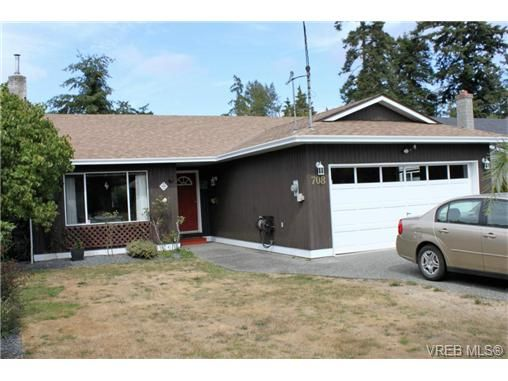 Main Photo: 708 Miller Ave in VICTORIA: SW Royal Oak House for sale (Saanich West)  : MLS®# 739540