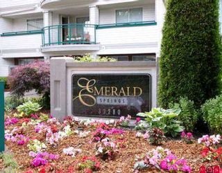 "Photo 1: 310 33280 E BOURQUIN CR in Abbotsford: Central Abbotsford Condo for sale in ""EMERALD SPRINGS"" : MLS®# F2513706"