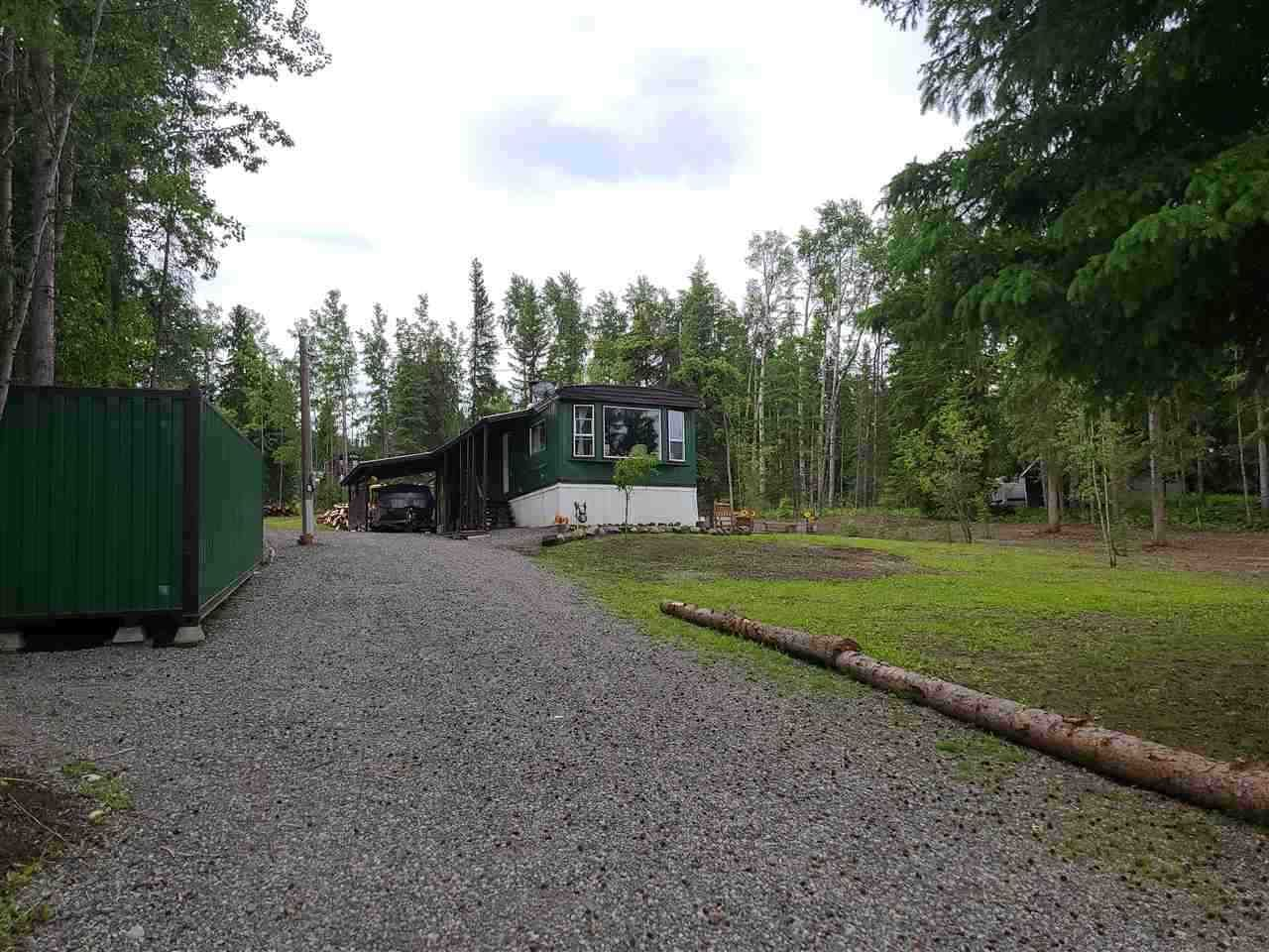 Main Photo: 6386 MULLIGAN Drive: Horse Lake Manufactured Home for sale (100 Mile House (Zone 10))  : MLS®# R2539538