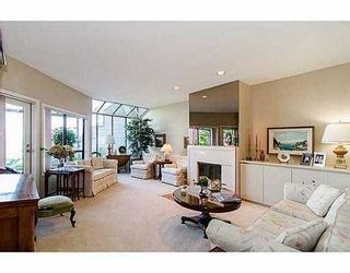 """Photo 4: 5257 ASPEN Crescent in West Vancouver: Upper Caulfeild Townhouse for sale in """"SAHALEE"""" : MLS®# V1023681"""