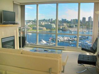 "Photo 2: 1503 1077 MARINASIDE Crescent in Vancouver: False Creek North Condo for sale in ""MARINASIDE RESORT"" (Vancouver West)  : MLS®# V814195"