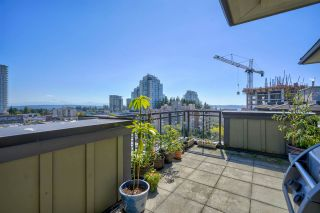 """Photo 1: 801 1581 FOSTER Street: White Rock Condo for sale in """"Sussex House"""" (South Surrey White Rock)  : MLS®# R2534984"""