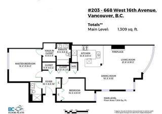 """Photo 31: 203 668 W 16TH Avenue in Vancouver: Cambie Condo for sale in """"The Mansions"""" (Vancouver West)  : MLS®# R2606926"""
