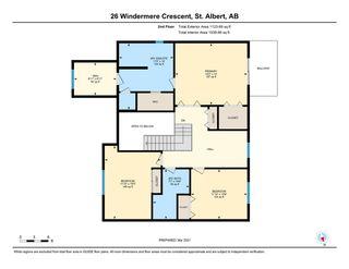 Photo 48: 26 Windermere Crescent: St. Albert House for sale : MLS®# E4235559