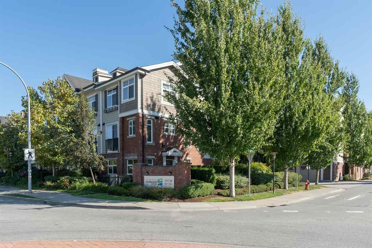 "Main Photo: 102 20738 84 Avenue in Langley: Willoughby Heights Townhouse for sale in ""Yorkson Creek"" : MLS®# R2498338"
