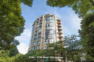 """Photo 1: 701 1736 W 10TH Avenue in Vancouver: Fairview VW Condo for sale in """"MONTE CARLO"""" (Vancouver West)  : MLS®# R2268278"""