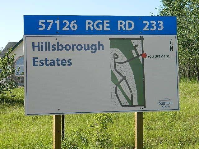 Main Photo: 68 Hillsborough Heights NE: Rural Sturgeon County Rural Land/Vacant Lot for sale : MLS®# E4237890
