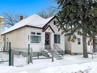 Photo 1: 351 Powers Street in Winnipeg: North End Residential for sale (4A)  : MLS®# 202103349