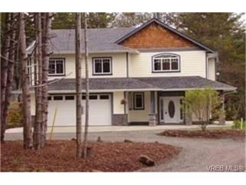 Main Photo:  in SOOKE: Sk Kemp Lake House for sale (Sooke)  : MLS®# 453021