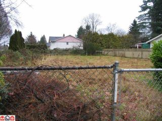 Photo 2: 14565 108TH Avenue in Surrey: Bolivar Heights Land for sale (North Surrey)  : MLS®# F1200041