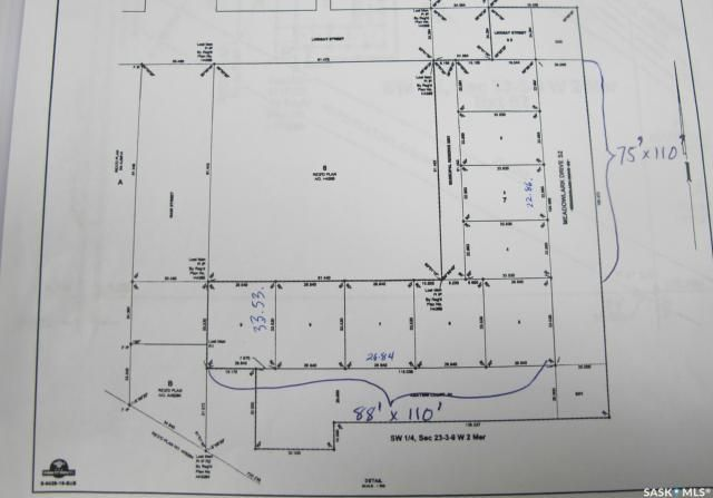 Main Photo: 111 Meadowlark Drive in Hitchcock: Lot/Land for sale : MLS®# SK867923