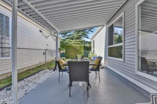 """Photo 24: 39 2345 CRANLEY Drive in Surrey: King George Corridor Manufactured Home for sale in """"LA MESA"""" (South Surrey White Rock)  : MLS®# R2601872"""